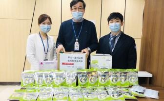 인천성모병원, 중국 에이전시에서 의료용 마스크·장갑 기부 받아