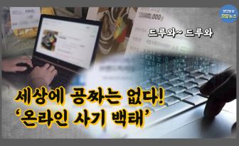 원숭이 캐릭터로 고수익?...온라인 사기 백태