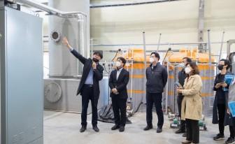 인천 서구, 친환경 폐기물 처리 '수도권매립지 실증연구시설' 방문