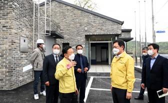 박남춘 인천시장, 옹진 도서지역 찾아 민생 행보