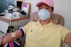 헌혈하고 온 혁디